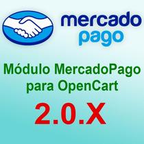 Mercado Pago Para Opencart 2.0.x Com Retorno Automático