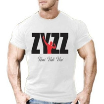 Camisa Camiseta Zyzz Masculina Malhar Academia 20% Off