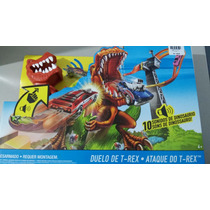 Pista Hot Wheels Ataque Do T-rex Novo Mattel Ref.:x4280