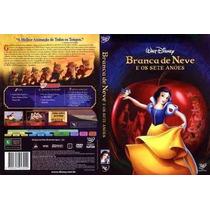 Branca De Neve E Os Sete Anões Dvd Edição Especial Lacrado