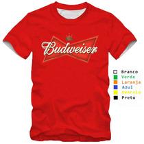 Camiseta Jack Daniels Duff Heinekken Bebida Budweiser Camisa