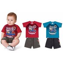 Conjunto Camiseta + Bermuda - 2204