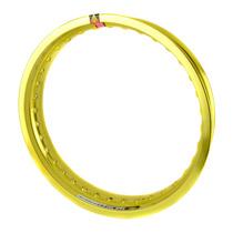 Aro Roda Alumínio (un) 2.50 X 17 Monaco - Amarelo Brilho
