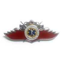 Pin- Boton- Broche- Breve - Socorrista - Emergência Prata