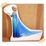 Elsa Frozen Cenário De Mesa P/ Festa De Aniversário Infantil