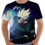 Camiseta Naruto - Kakashi - Anime - Mangá