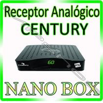 Receptor Analógio Century Br 2016 * Para Antena Parabolica *