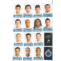 Figurinhas Campeonato Brasileiro 2013 Time Cruzeiro Completo