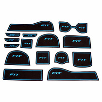Kit Acessório Honda New Fit Tapete De Borracha P/ Portas Etc