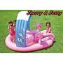 Piscina Inflavel Infantil Playground Intex Hello Kitty
