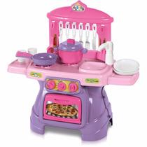 Cozinha Infantil - Mini Cheff - Rosa - Sai Água Calesita