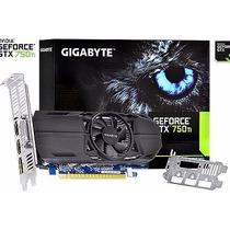Placa Vídeo Geforce Gtx 750ti 2gb Ddr5 Low Profile Gigabyte