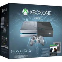 Console Xbox One 1tb + Game Halo 5: Headset + Jogo Ed Esp.