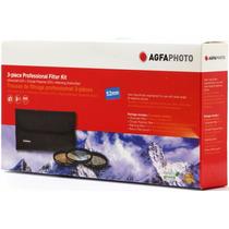 Agfa Kit 3 Filtros Uv Cpl Nikon 52mm Nikkor D3300 D7100 3200