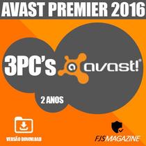 Antivirus Avast Premier 2016 3 Pc