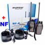 Radio Comunicador Ht Walkie Talkie Baofeng Bf-a5 + Fones Nf
