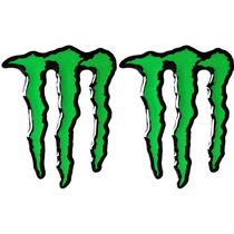 Kit Adesivo Resinados Monster Mini Verde