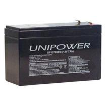 Bateria Selada 12v/7a Unipower Up1270seg Alarme Nobreak