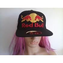 Boné Red Bull Aba Reta / Flex (( Maravilhoso ))