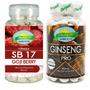 Ginseng Pro + Seca Barriga Gojiberry 180 Compr. Nutrigold