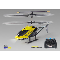 Mini Helicoptero 3.5ch Com Gyro Voa Dentro De Casa Controle