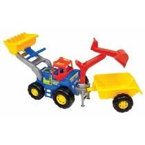 Trator Truck Super Completo - Magic Toys Frete Gratis