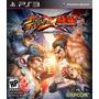 Jogo Street Vs Tekken Para Ps3 /português/semi Novo/