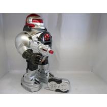 Incrivel Robo Que Fala,anda,dança,lança Discos C/ Controle