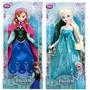 Boneca Frozen Disney Elsa Ou Anna Original Pronta Entrega