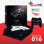 Skin Capa Playstation 4 Ps4 Adesivo Game Of Thrones