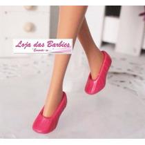 Sapatinho / Sapatilha / Sapato Para Boneca Barbie / Skipper