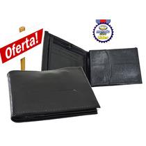 Carteira Hd Couro Masculina Porta Documento, Cartão, Cédula