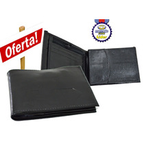 Carteira Nova Porta Doc, Moedas C/zipper Masculina Hd Couro