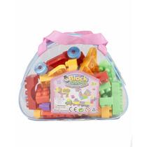 Brinquedo Multiblocos Pedagógicos Criança Infantil 35 Pçs