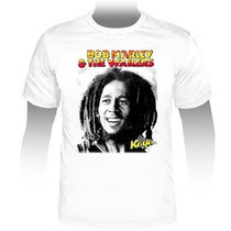 Camiseta Bob Marley & The Wailers Reggae Power Frete Grátis