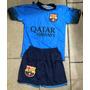Conjunto Infantil Barcelona Azul 2016 Neymar 11 Confira Já !