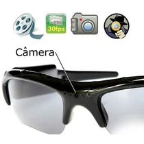 Óculos Espião Filma Com Áudio E Tira Foto De Boa Qualidade