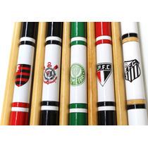 Taco De Rosca Time P/ Bilhar/ Snooker/ Sinuca C/ Capa Novo
