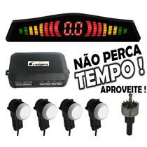Sensor De Ré/estacionamento Oem Embutido Acabamento Original