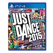 Just Dance 2015 Playstation4 Midia Fisica Pt-br Original Ps4
