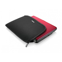Case Poliester 12 Preto Netbook Notebook Ultrabook