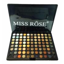 Paleta Sombra Matte - Miss Rose 88 Cores - 90% Foscas