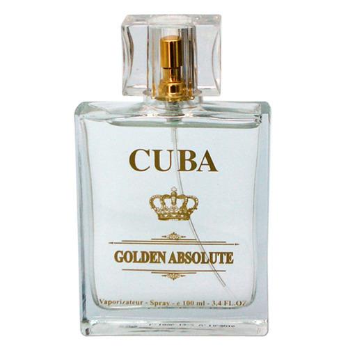 Golden Absolute Deo Parfum Cuba Paris - 100ml