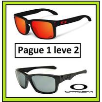 Kit Com 2 Oculos Masculino Holbrook Ou Jupiter