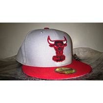 Boné Chicago Bulls Nba New Era Cinza 7 3/8