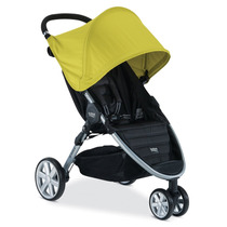 Carrinho De Bebe Britax B-agile 3 Rodas Stroller - Amarelo