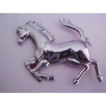 Emblema Cavalo Ferrari Cromado Lado Esquerdo Cod 08102