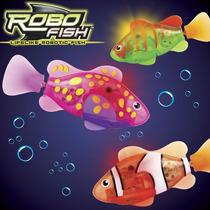 Robo Fish Led, Peixe Robótico Realístico - Dtc !!!