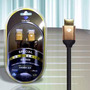 Diamond Gs 3020 Cabo Hdmi 2.0 4k 1,8m Ethernet Linha Gold