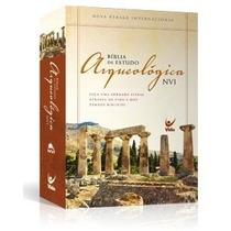 A Bíblia De Estudo Arqueológica Capa Dura